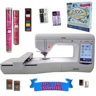 Brother Innov-is BP2100 Embroidery Machine With Exclusive Bonus Bundle