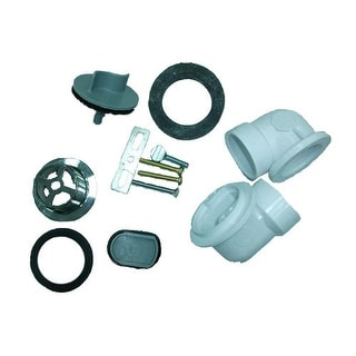 Proflo PFWO500 Tub Waste and Overflow Trim Kits with Test Kits Included