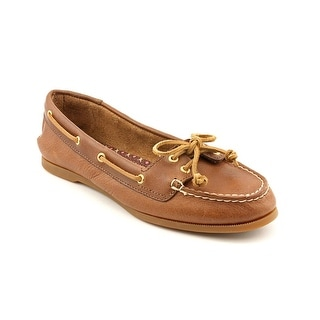 Sperry Top Sider Audrey Women Moc Toe Leather Brown Boat Shoe