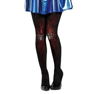 Spider-Girl Costume Pantyhose Adult One Size