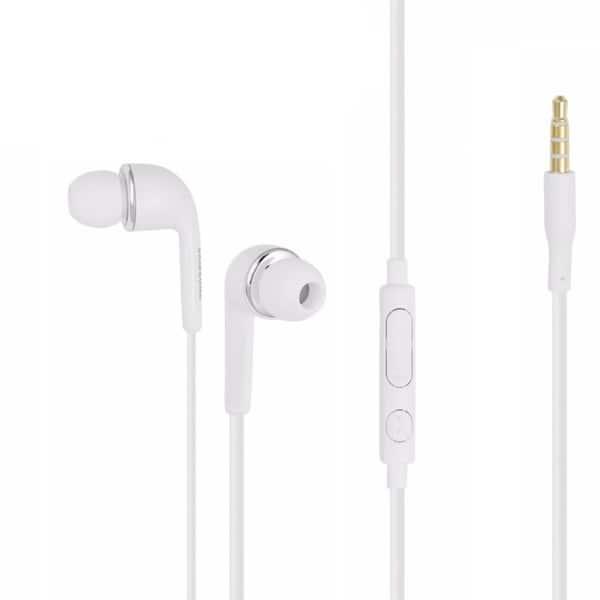 Shop Samsung Eg900 White Stereo Talk 3 5mm Headset Mic For Cell Phone Overstock 22393156