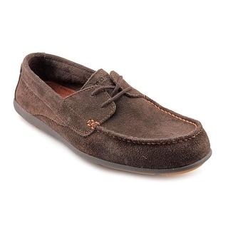 Rockport Bennett Lane 2 Eye Men Moc Toe Suede Boat Shoe