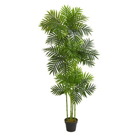 Nearly Natural Home Decorative 6' Phoenix Palm Artificial Faux Tree