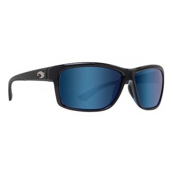 Costa Del Mar Mag Bay Sunglasses AA-11-OBMGLP Black 580G Blue Mirror Polarized
