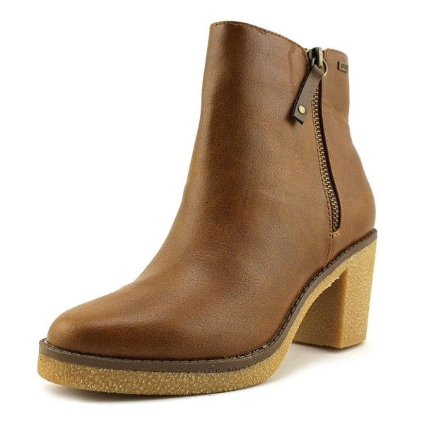 MTNG 51814 Women Round Toe Synthetic Brown Ankle Boot