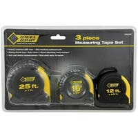 Steel Grip 2265296 Measuring Tape Set, 3 Piece