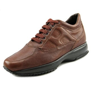 Hogan H217 Route Derby Bucature Round Toe Leather Oxford