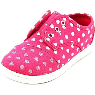 Toms Paseo Round Toe Synthetic Sneakers