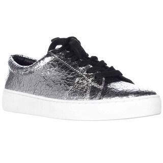 MICHAEL Michael Kors Valin Runway Casual Sneakers - Silver
