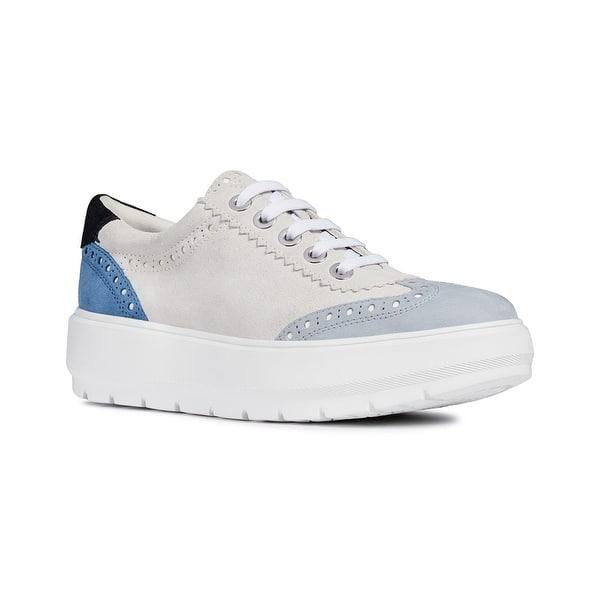 futuro Abrazadera Banco  Geox Kaula Suede Sneaker - Overstock - 32249942
