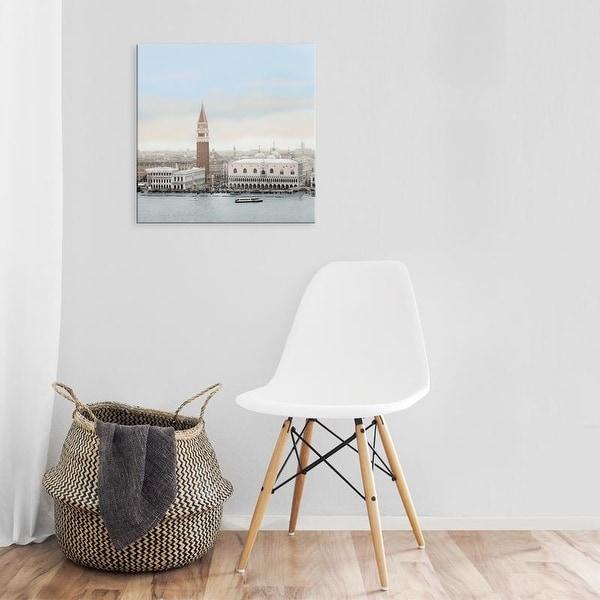 Easy Art Prints Alan Blaustein's 'Piazza San Marco Vista' Premium Canvas Art