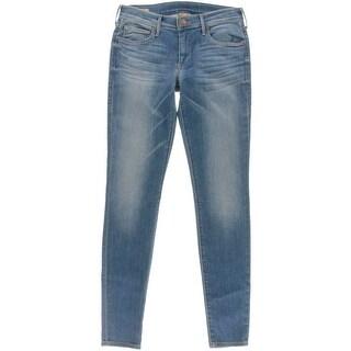 True Religion Womens Casey Edenhurst Wash Denim Skinny Jeans