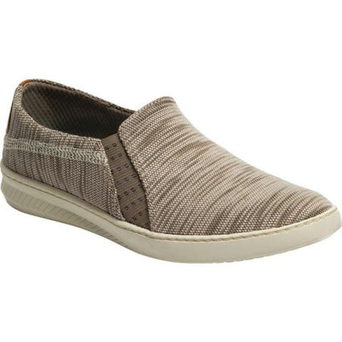 Bare Traps Women's Yadier Slip On Sneaker Stone Diva Fabric