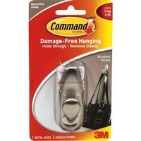3M Command Med Nickel Hook