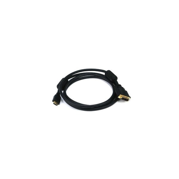 Monoprice 6 ft HDMI to DVI Adapter Cable Network Cable