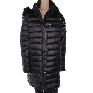 Link to G Gallery Women's Jacket Classic Black Size 1X Plus Faux Fur Puffer Similar Items in Women's Outerwear