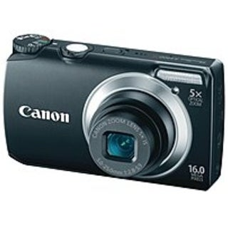 Canon PowerShot 5035B001 A3300 IS 16 Megapixels Digital Camera - (Refurbished)