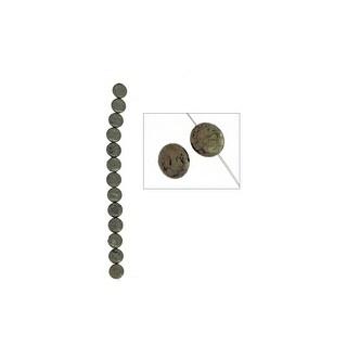27641331060012s8 John Bead Sp 8 Pyrite 12mm Coin