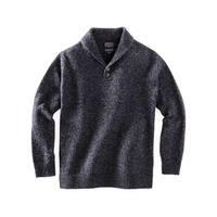 Pendleton Western Sweater Mens Shetland Shawl Pullover Wool