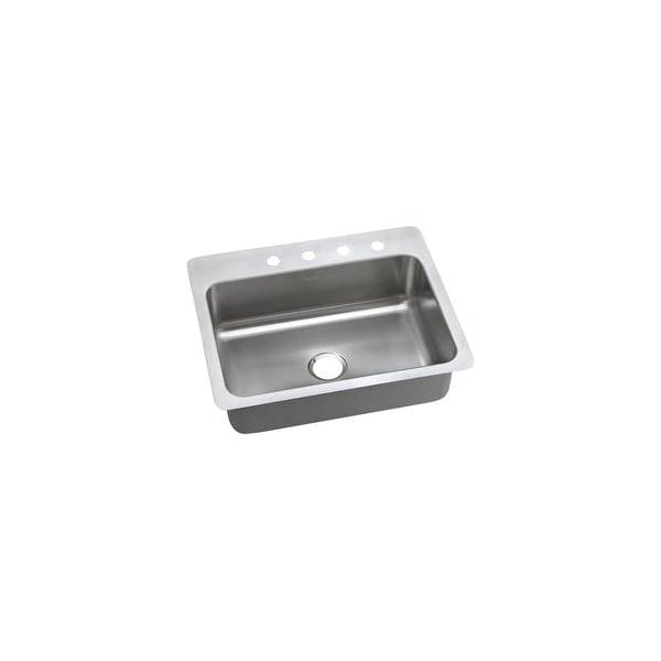 """Elkay DSESR12722 Dayton 27"""" Single Basin Drop In Stainless Steel Kitchen Sink"""
