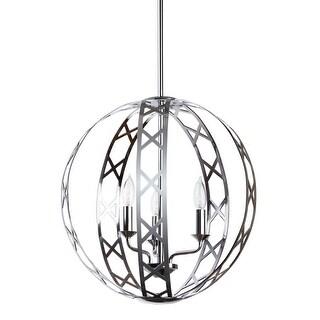 "Miseno MLIT155632 3-Light 18"" Orb Chandelier - Polished chrome - n/a"