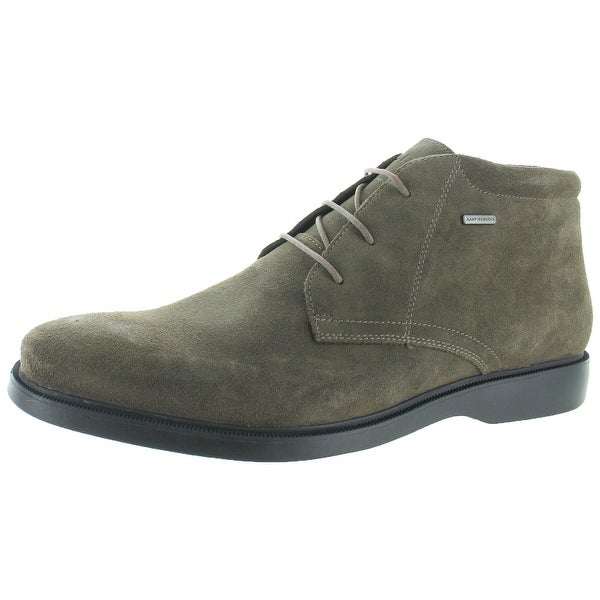 06aa0837cd8e3 Shop Geox Brayden Men's Waterproof Suede Ankle Boots - Free Shipping ...