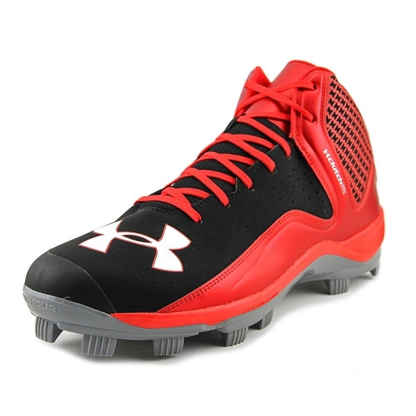 Under Armour Team Yard Mid Tpu Men Blk/Red/Stl Cleats