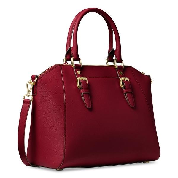 Shop MICHAEL Michael Kors Ciara Saffiano Leather Large