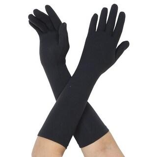 Protex Elle Full Finger Arthritis Compression Gloves - Black - Medium