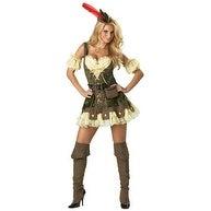 Racy Robin Hood Adult Deluxe Womens Halloween Costume