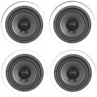 """Architech 6.5"""" Premium Series Ceiling Speakers Contractor 4 Pk"""