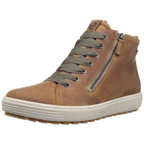 2a71d8fca2 Shop ECCO Womens 45016302291 Leather Hight Top Zipper Fashion ...