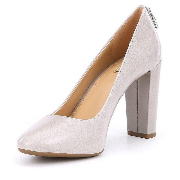 0de58512a7e0 MICHAEL Michael Kors Womens Mira Flex Mid Leather Round Toe Classic Pumps