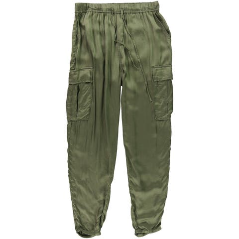 Ralph Lauren Womens Drapey Casual Cargo Pants
