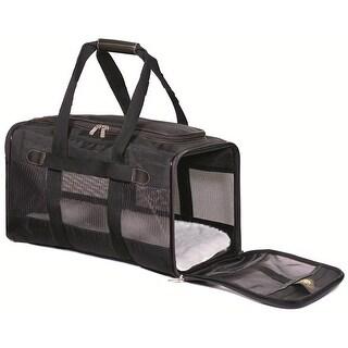 Sherpa Travel Original Deluxe Dog Carrier - Black - Medium