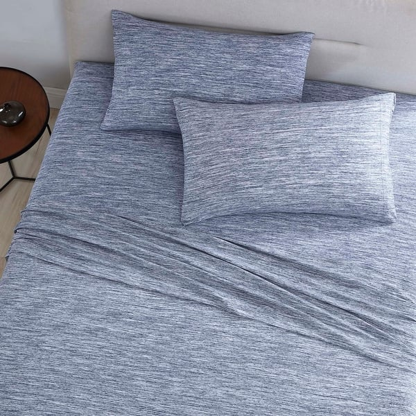 Solid Jersey Sheet Set Twin Twin XL Full King Queen California King COLOR OPTION