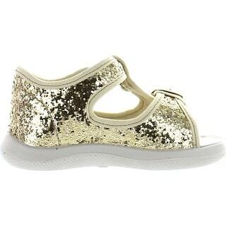 Naturino Girls 7786 Canvas Fashion Sandals