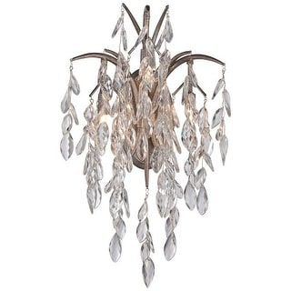 Metropolitan N2860-278 3 Light Wall Sconce from the Bella Flora Collection