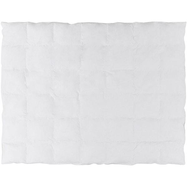 White Twin Size Duvet Bedding Insert - Down Filler