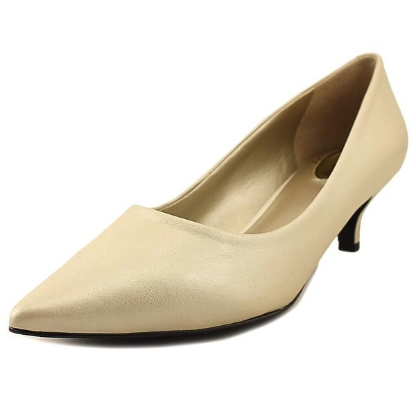 Trotters Paulina Women W Pointed Toe Leather White Heels