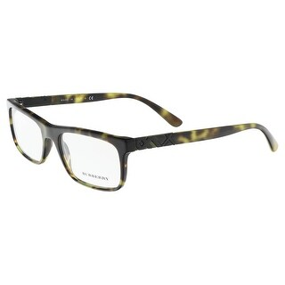 Burberry BE2240 3208 Medium Havana Rectangle Optical Frames - 53-18-140