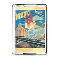 Mexico c. 1944 - Vintage Advertisement (Acrylic Serving Tray)