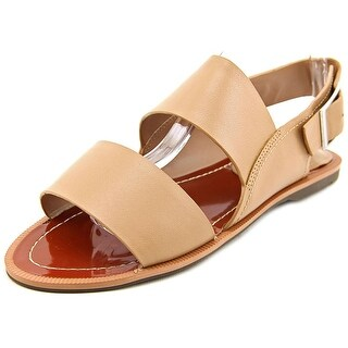 Charles By Charles David Ava Women Open-Toe Leather Nude Slingback Sandal