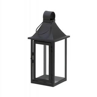 Classic Black Iron Candle Lantern