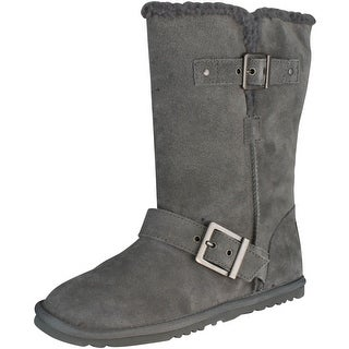 Skechers Women's Starship-Mid Snow Boot - Charcoal - 5.5 b(m) us