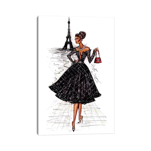 "iCanvas ""Ooh La La Paris"" by Hayden Williams Canvas Print"
