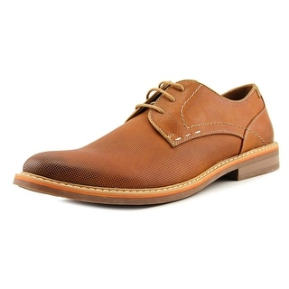 Steve Madden Olivyr Men  Round Toe Leather Tan Oxford