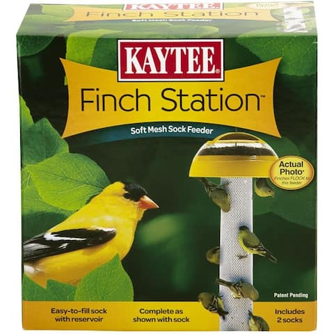 Kaytee® 100501080 Finch Station⢠Soft Mesh Sock Feeder