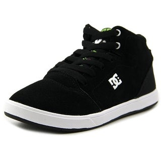 DC Shoes Crisis High Youth Round Toe Leather Skate Shoe