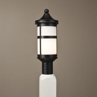 Norwell Lighting 1224 1 Light Outdoor Post Lantern from the Laurel Collection